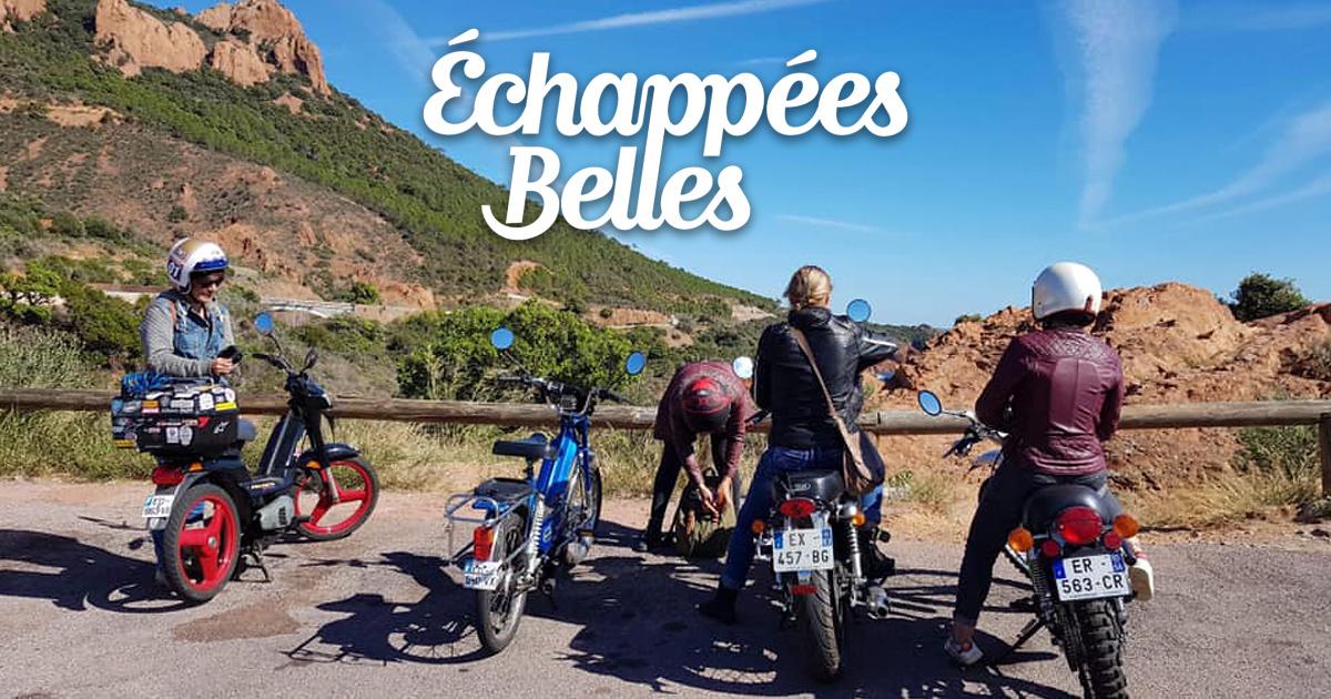 Effet de Mob dans l'émission Echappees Belles 09-10-2019