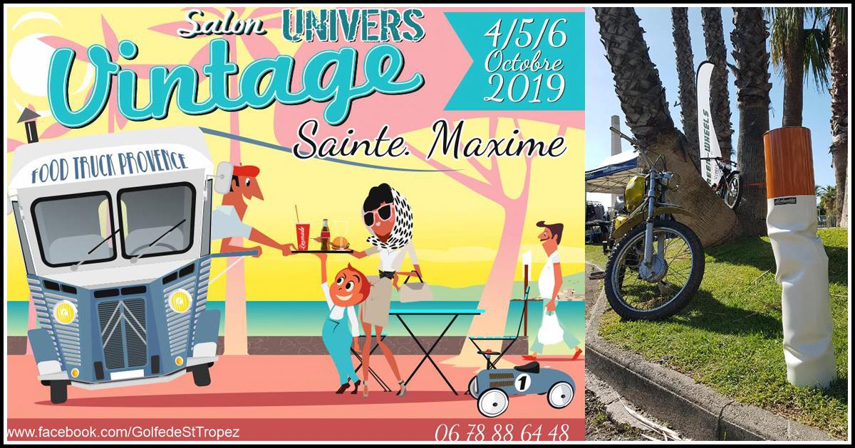 Effet de Mob au Salon Univers Vintage de Sainte Maxime